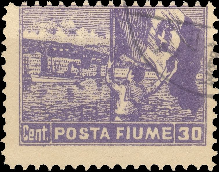 fiume_1919_harbor_posta-fiume_30cent_forgery_type3