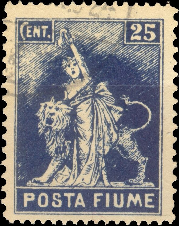 fiume_1919_statue-of-liberty_25c_posta_fiume_perforated_forgery