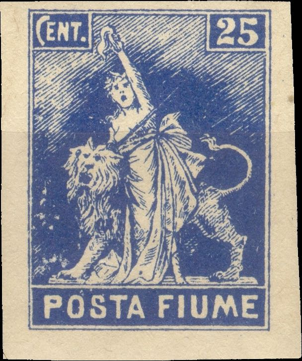 fiume_1919_statue-of-liberty_25c_posta_fiume_unperforated_forgery