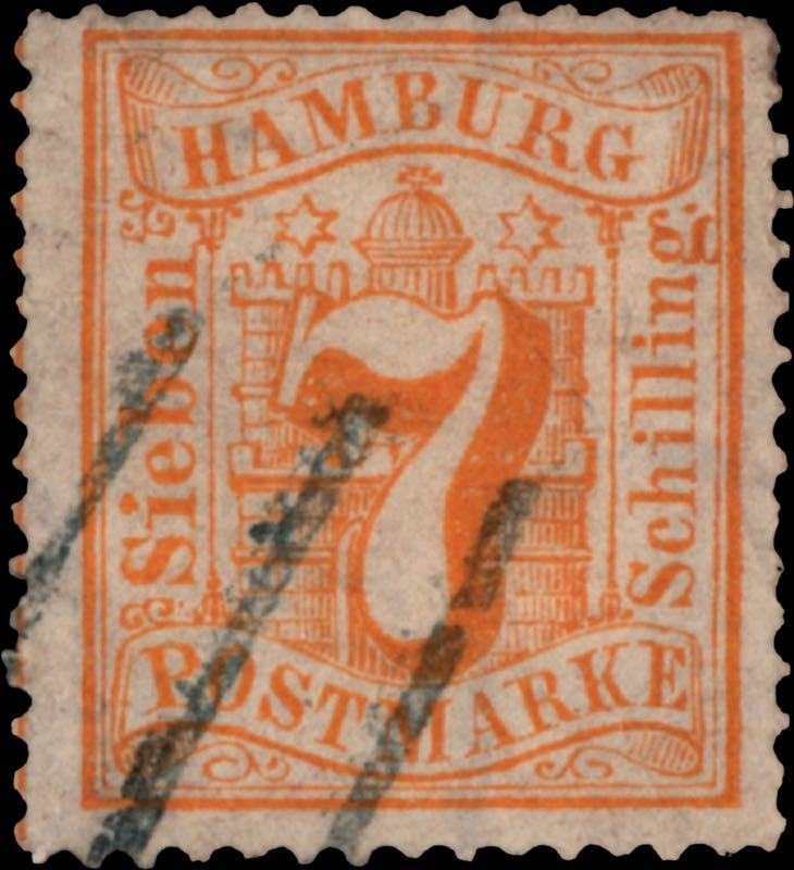 hamburg_1864_7schilling_genuine
