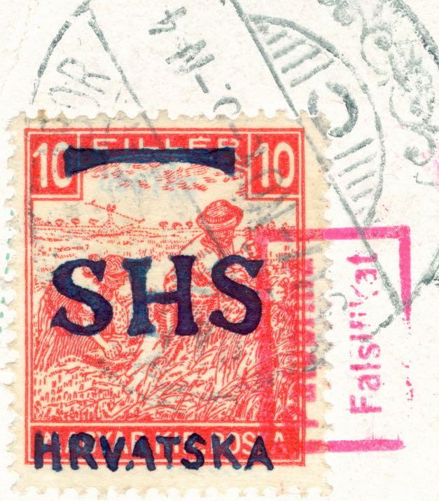 yugoslavia_croatian_1916_10f_shs_hrvatska_overprint_forgery