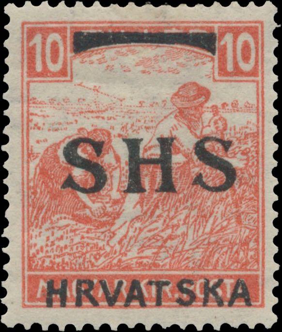 yugoslavia_croatian_1916_10f_shs_hrvatska_overprint_genuine