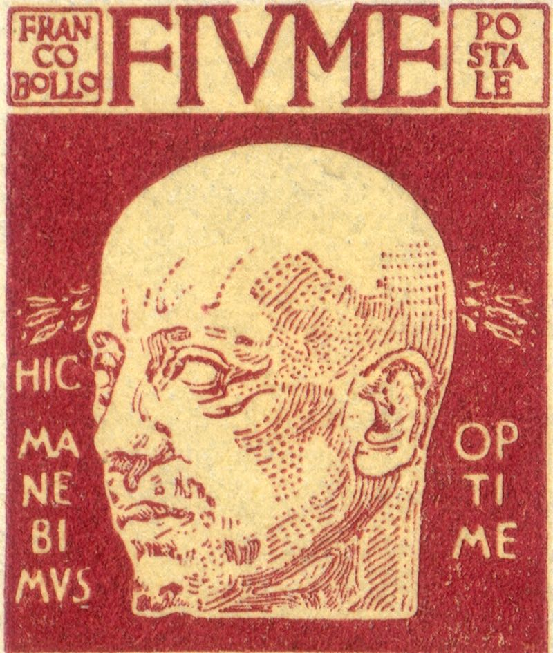 fiume_1920_gabrielle_d-annunzio_10c_forgery_type1