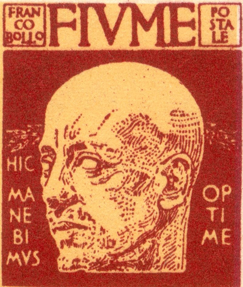 fiume_1920_gabrielle_d-annunzio_10c_forgery_type2