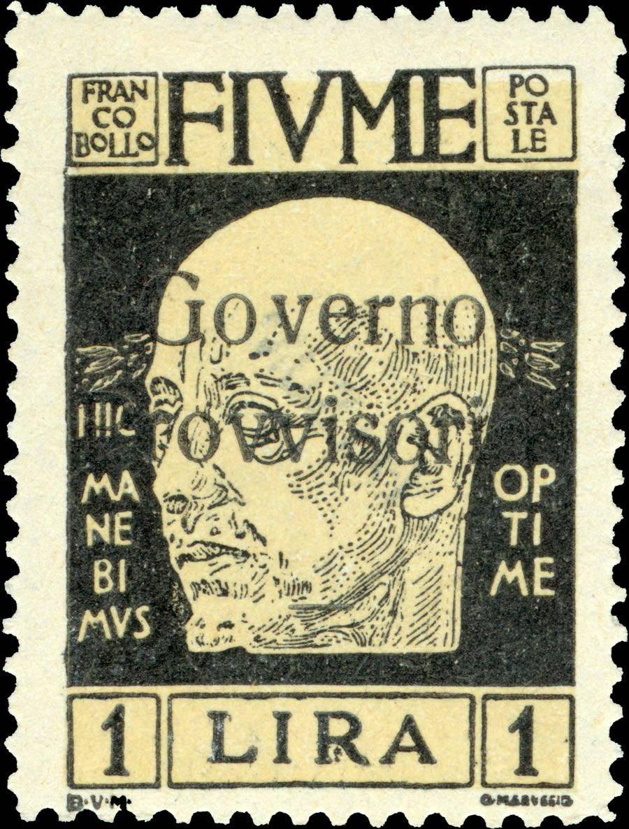fiume_1921_minr-124i_governo_overprint_forgery
