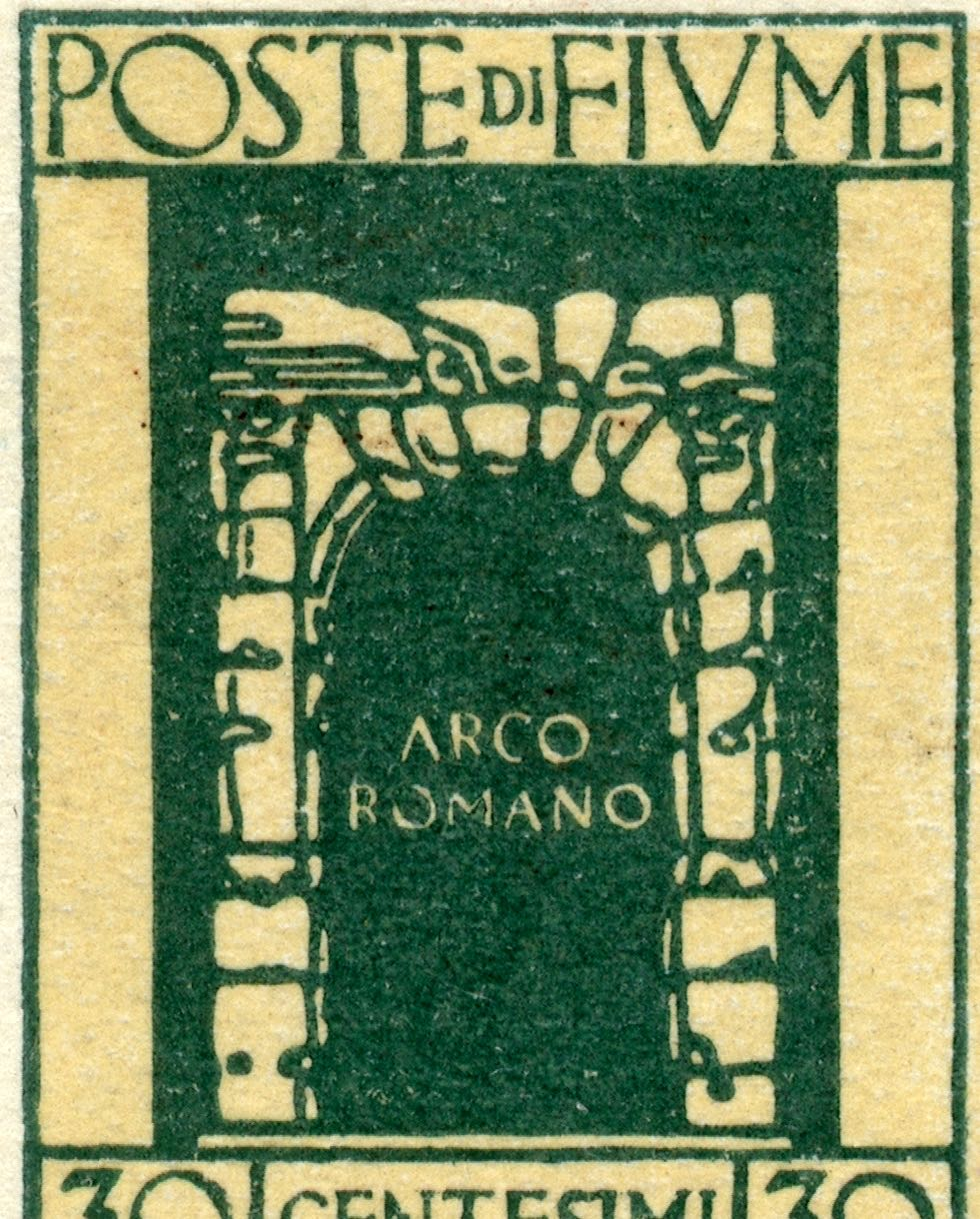 fiume_1923_roman_arc_forgery_type1