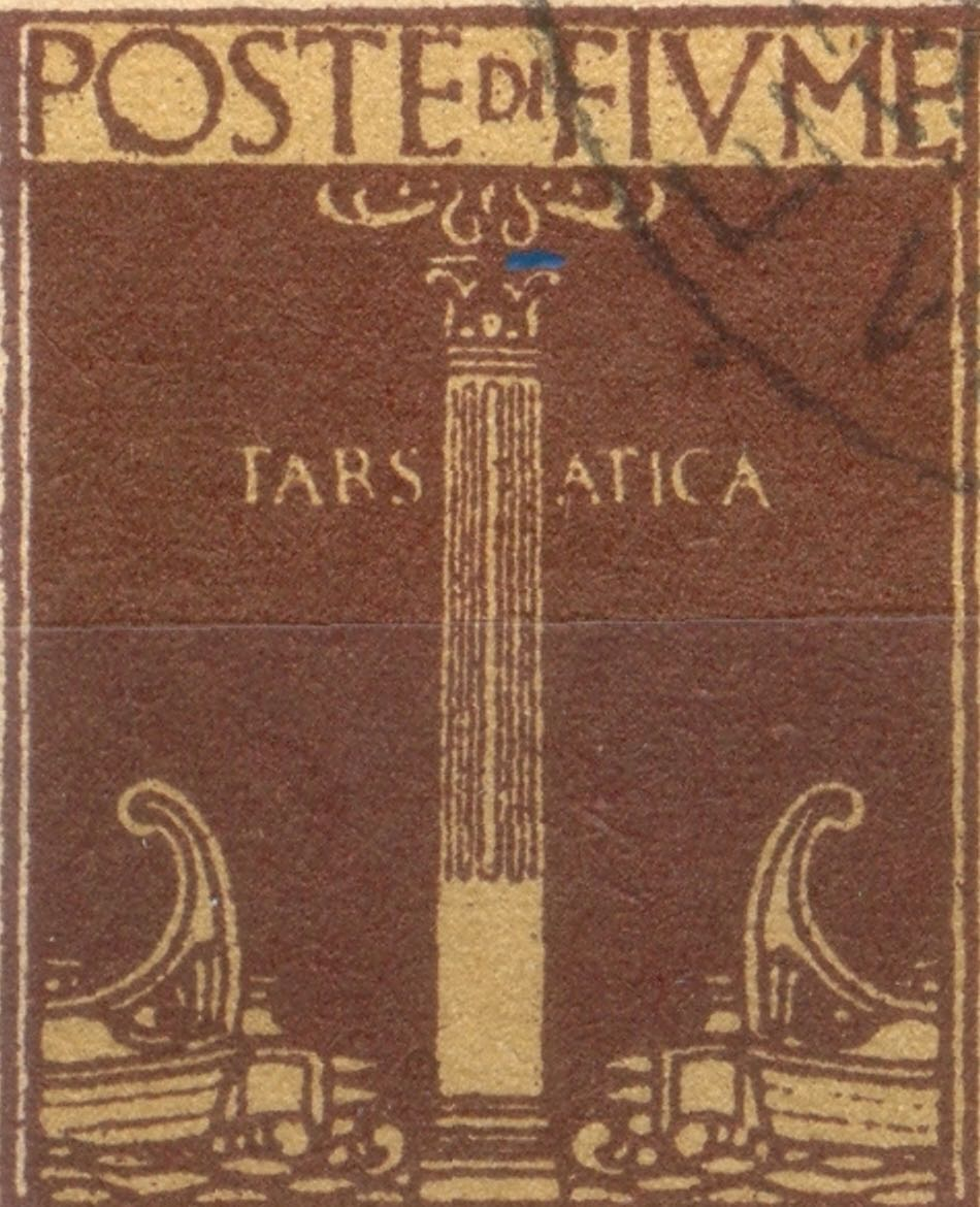 fiume_1923_roman_column_forgery_type2