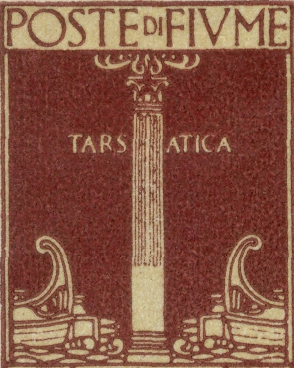 fiume_1923_roman_column_genuine
