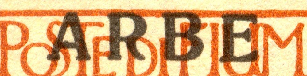 fiume_military_post_reggenza_italiana_large-arbe_overprint_forgery_type_2