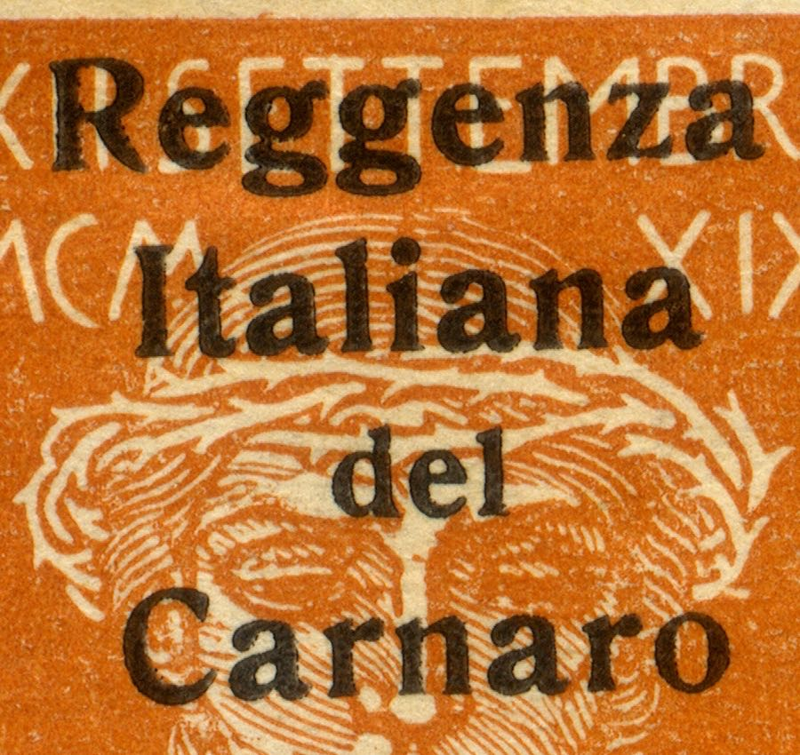 fiume_military_post_reggenza_italiana_overprint_forgery_type1