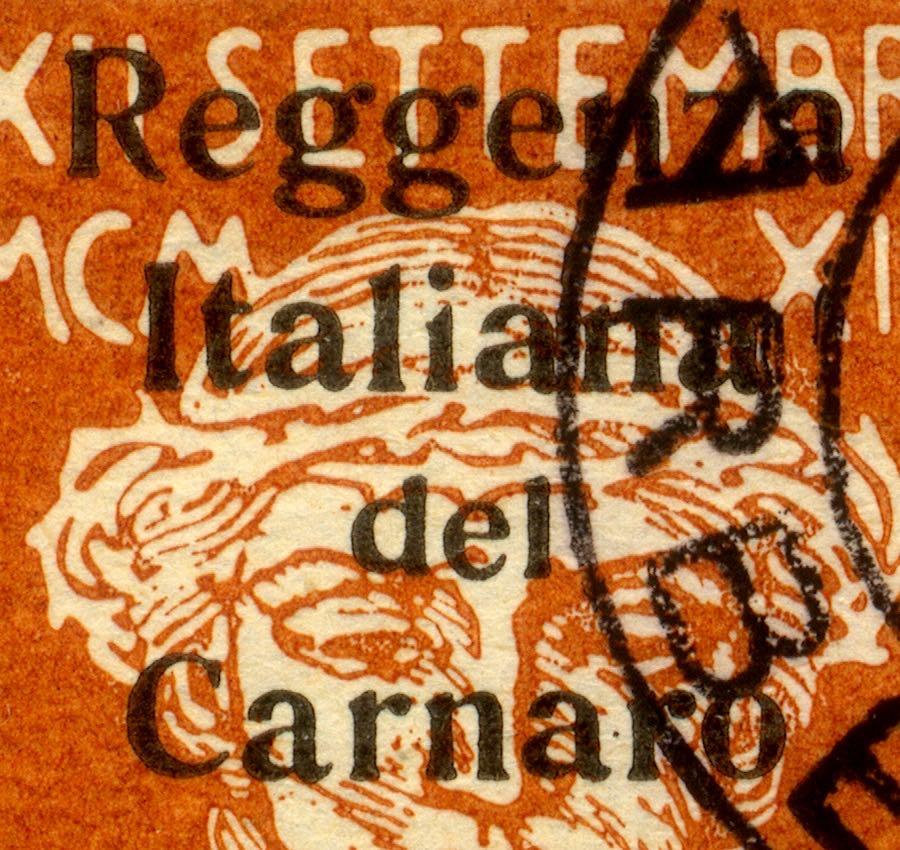 fiume_military_post_reggenza_italiana_overprint_forgery_type2