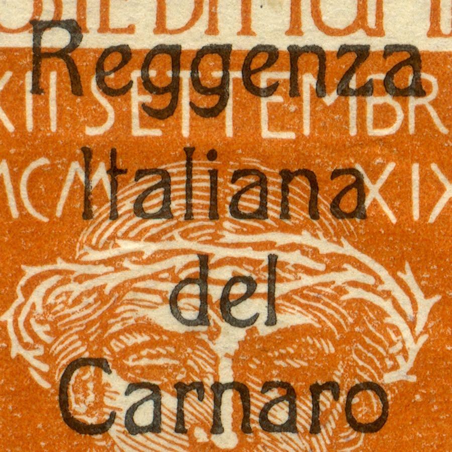 fiume_military_post_reggenza_italiana_overprint_essay_forgery_type1