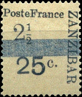 Zanzibar_French_Post_1897_25c-2.5c_Forgery2