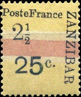 Zanzibar_French_Post_1897_25c-2.5c_Forgery3