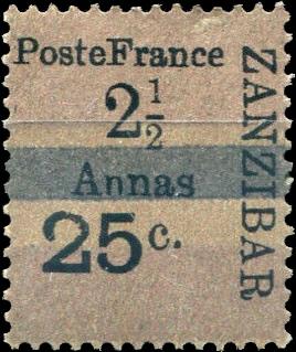 Zanzibar_French_Post_1897_25c-2.5c_Forgery4
