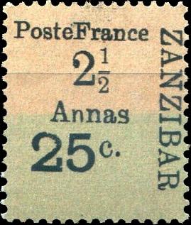Zanzibar_French_Post_1897_25c-2.5c_Forgery5