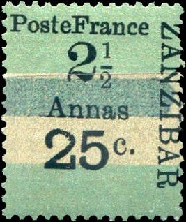 Zanzibar_French_Post_1897_25c-2.5c_Forgery8