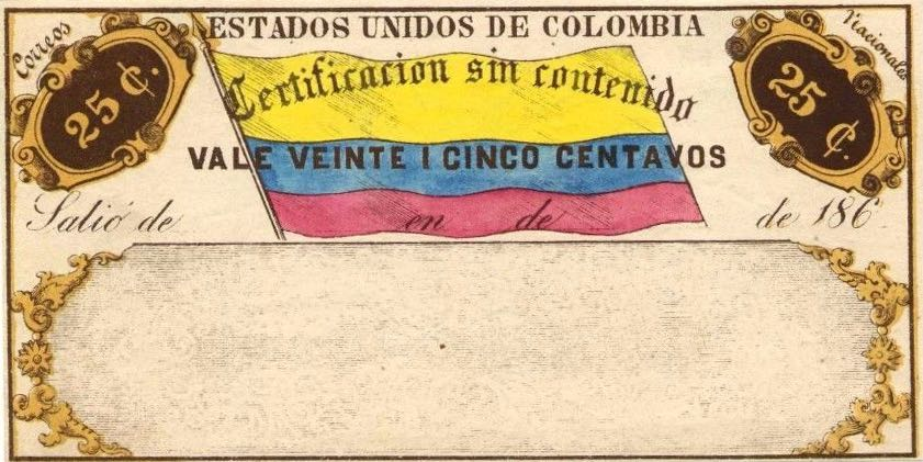 Colombia_1865_Cubiertas_25c_Forgery3