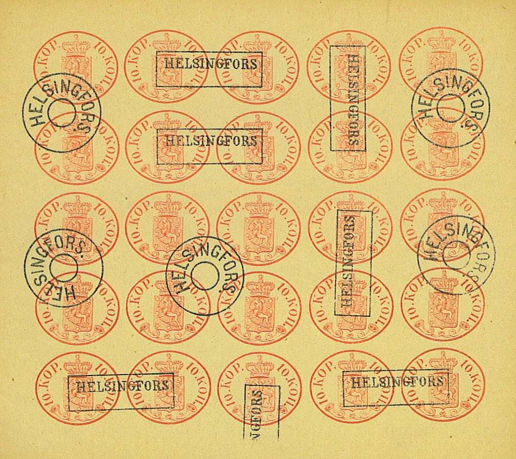 Finland_1856_Oval_10k_Fournier_Forgery_sheet