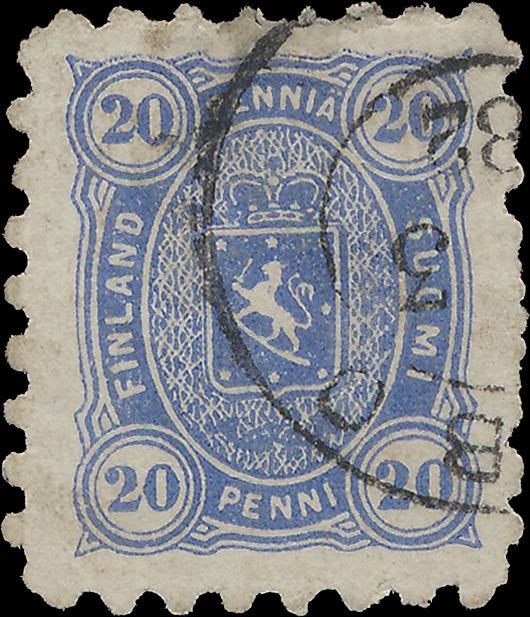 Finland_1875_20pf_Forgery