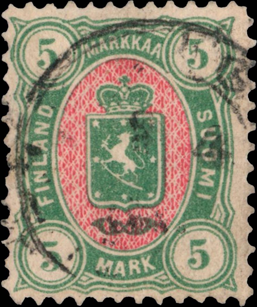 Finland_1875_5m_Genuine