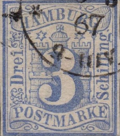 Hamburg_3s_Forged_Postmark1