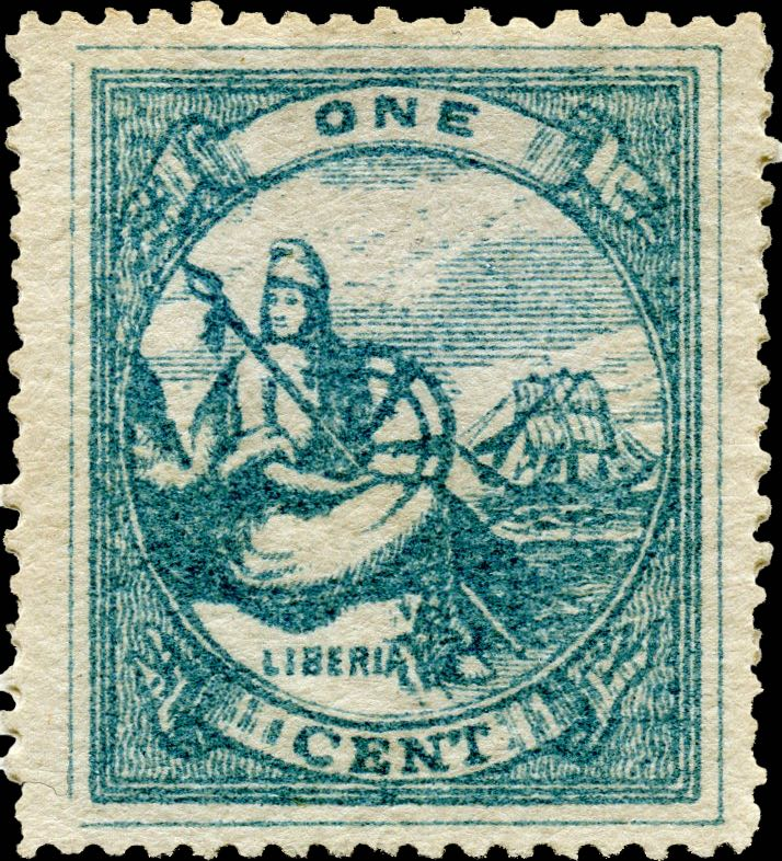 Liberia_1880_Allegory_1cent_Unknown_Forgery1