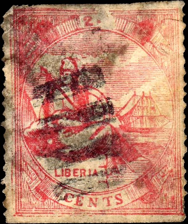 Liberia_1880_Allegory_24cent_Torres_Forgery