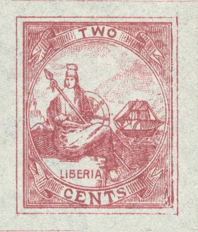 Liberia_1880_Allegory_2cent_Unknown_Forgery2