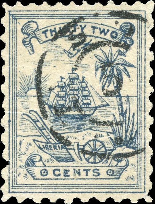 Liberia_1885_Numerial_32c_Forgery2