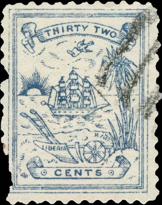 Liberia_1885_Numerial_32c_Forgery3