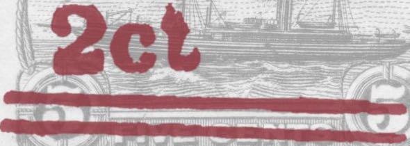 Liberia_1916_Provisional_2c-on-5c_black_Forgery_close