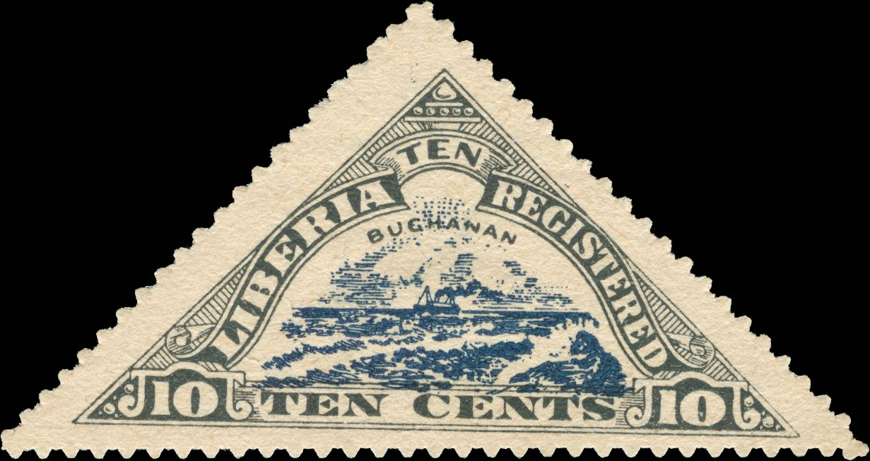 Liberia_1919_Registration_stamp_10c_Forgery