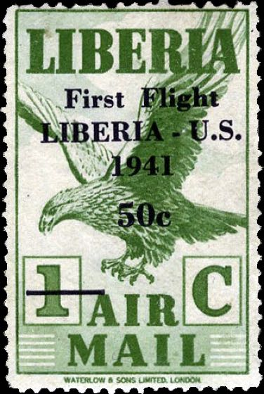 Liberia_1941_First_Flight_1c_Genuine