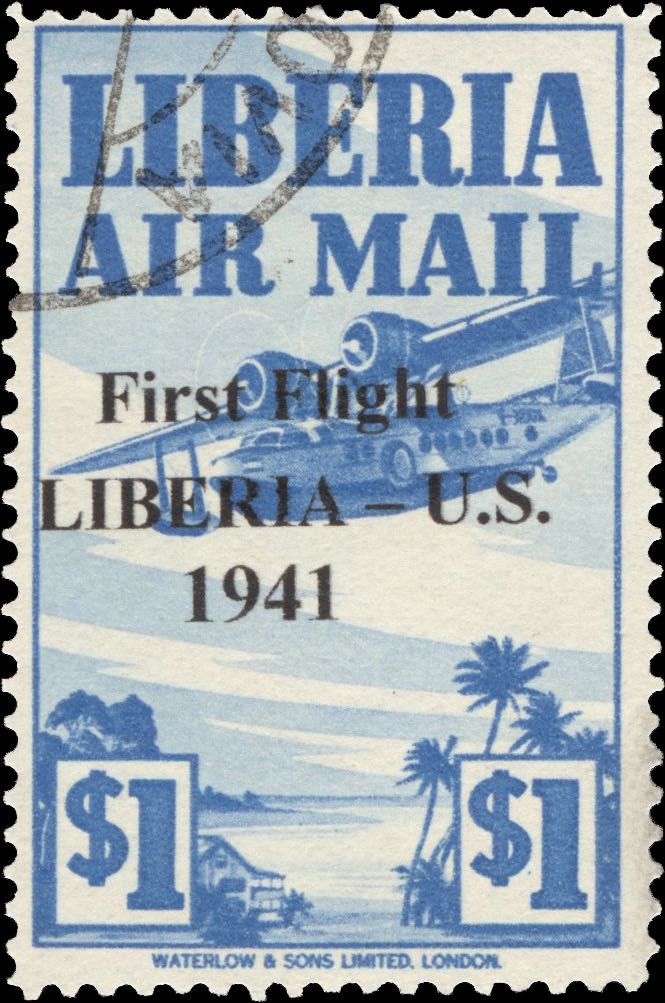 Liberia_1941_First_Flight_1dollar_Forgery