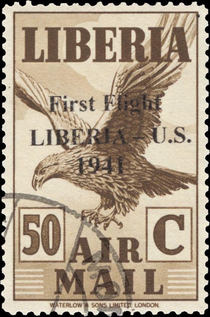 Liberia_1941_First_Flight_50c_Forgery