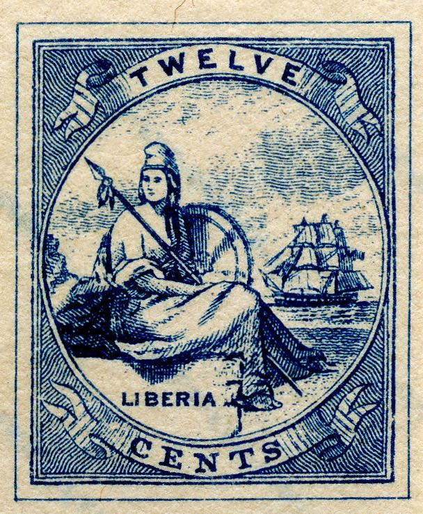 Liberia_Allegory_1st-series_12c_Fournier_Forgery2