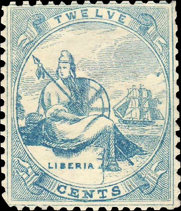 Liberia_Allegory_1st-series_12c_Unknown_Forgery3