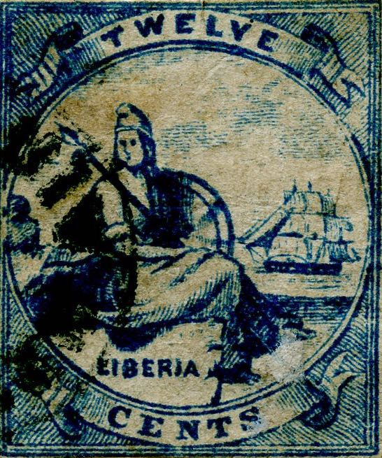 Liberia_Allegory_1st-series_12c_Unknown_Forgery4