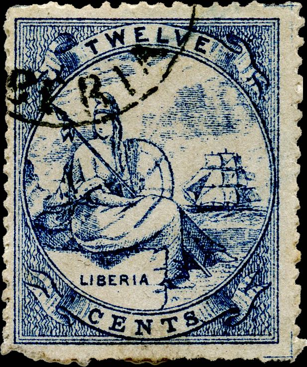Liberia_Allegory_1st-series_12c_Unknown_Forgery5