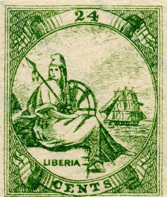 Liberia_Allegory_1st-series_24c_Fournier_Forgery1