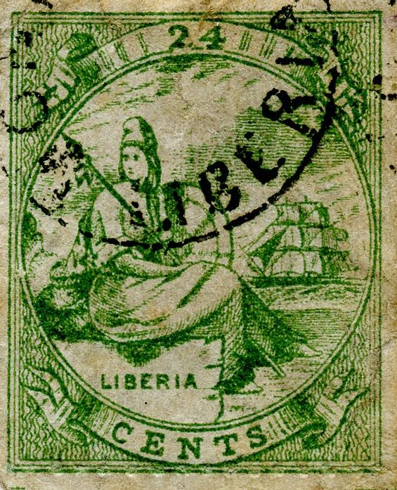 Liberia_Allegory_1st-series_24c_Unknown_Forgery4