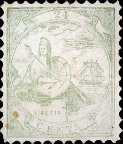 Liberia_Allegory_1st-series_24c_Unknown_Forgery7