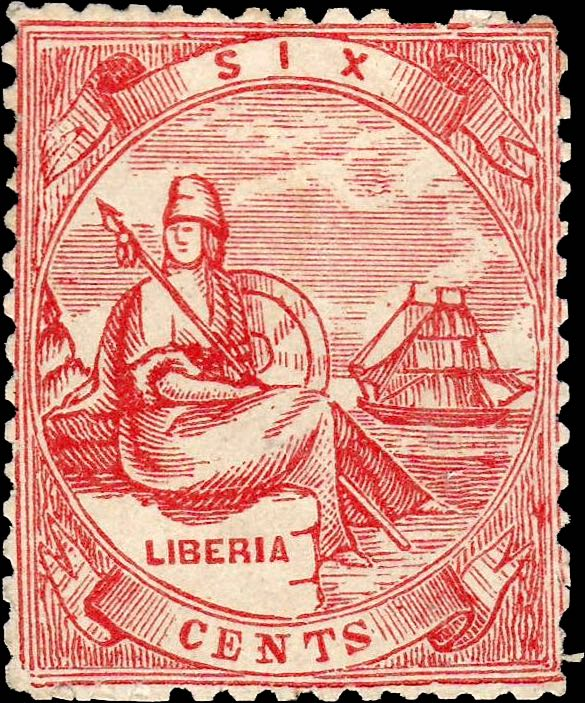 Liberia_Allegory_1st-series_6c_Torres_Forgery