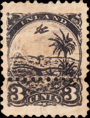 Liberia_Inland_Postage_3c_Fournier_Forgery