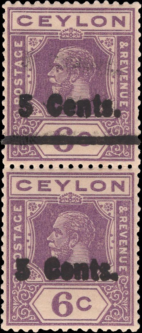 Ceylon_KGV_6c_SG362_Forgeries