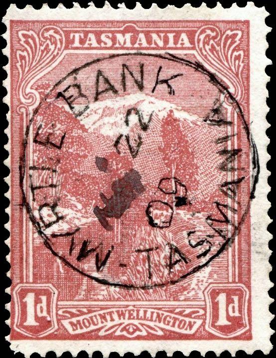 Tasmania_Mount_Wellington_1d_Forged_Postmark1